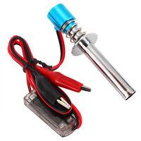 New Upgraded 6V-24V Electronic Glow Plug Starter Igniter for Nitro RC Car