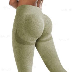 Women Anti Cellulite Yoga Pants High Waist PUSH UP Leggings Workout Trousers Gym