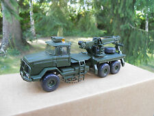 VEHICULE MILITAIRE SMITH AUTO MODELS  SCAMMEL S 24 RECOVERY TRUCK VERT KAKI MIB