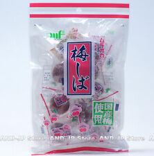 Japanese Umeshiba Crunchy Pickled Plum Umeboshi snack 110g Individually Wrapped