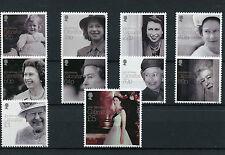Gibraltar 2016 MNH Queen Elizabeth II 90th Birthday Anniv 10v Set Royalty Stamps