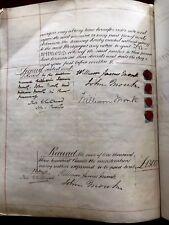 Autographs 1799 Document Signed By Judge Samuel Putnam For Estate Of Gen Collectibles John Fisk