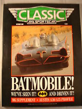 Classic and Sports car magazine - October 1989 - Batmobile