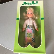 VINTAGE 70s# GALBA DOLL MARYBELL MARY BELL QUALITY VINTAGE DOLL#NIB IT