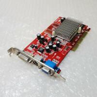 128mb Radeon 9200 SE C3D 6040 DDR DVI TV VGA AGP Graphics Card / GPU - Tested