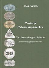 Höidal Jean: Deutsche Erkennungsmarken 1866-heute NEU (Handbuch mit MOB-Liste)