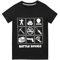 Boys Battle Royale Tee | Battle Royale T-Shirt | Battle Royale Top NEW