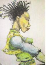 Raggedy Girl Ethnic Artwork Expressionism by Charles Bibbs