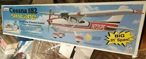 Top Flite Cessna 182 Skylane Kit .60-1.20 1/5 Sport Scale Model Vintage Kit