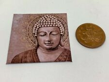 HANDMADE MINIATURE DOLLS HOUSE ACCESSORY CANVAS STYLE PICTURE BUDDHA STATUE 2