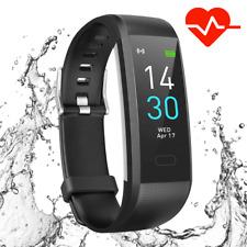 Bluetooth Smart Watch M4 Heart Rate Blood Pressure Fitness FIT#BIT Sport Tracker