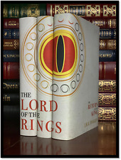 Lord Of The Rings 3 Volume Trilogy Set by Tolkien New Hardback Custom Gift Set A