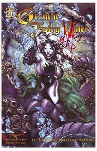 Grimm Fairy Tales (2005) #26 Cover A Signed by Ebas Eric Basaldua No COA NM-