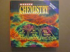 Modern Chemistry Teacher's Edition 1999 Holt Rinehart NEW 0030513898