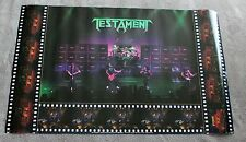 Testament 1990 Alex Skolnick Brockum LIVE Concert Music Poster #P7105 VG