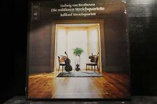 L.v. Beethoven - Die mittleren Streichquartette / Juilliard Streichqu   3 LP-Box