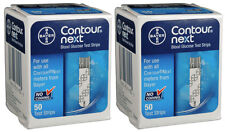 Bayer Contour Next Test Strips - 100 count (2 Boxes of 50)