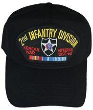 2ND INFANTRY DIVISION ID KOREAN WAR HAT - BLACK - Veteran Owned Business