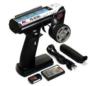 Flysky FS-GT3C 2.4Ghz Remote Controller LCD Transmitter W/Receiver For Car F4W9