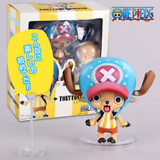 ANIME One Piece New world TonyTony Chopper 9cm Action Figure 3Faces Toy Gift NIB