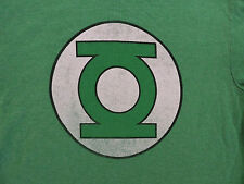 DC Comics Green Lantern Distressed Logo Licensed Adult Costume T-Shirt