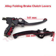 Folding Brake Clutch Levers For Chinese XR50 CRF50 KLX110 SSR TTR Dirt Pit Bike