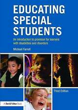Educating Special Students: An introduction to provision for learners with disab