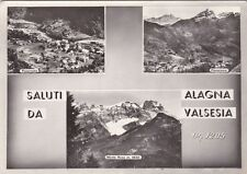 * ALAGNA VALSESIA - Panorami 1953