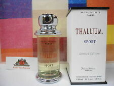 THALLIUM SPORT LIMITED EDITION BY YVES DE SISTELLE EDT SPRAY 3.3 OZ / 100 ML NEW