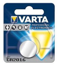 1 x Varta CR2016 3V Lithium Battery (Alarms, Watch, Remote, Car Remote Fob)