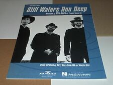Bee Gees sheet music Still Waters Run Deep 1997 8 pages (M- shape)