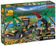 COBI - Small Army ~ Rocket Launcher & Marines Truck 270 Piece Block Set #NEW