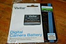 Vivitar Digital Camera Battery VIV-N8-EL19 for Nikon EN-EL19