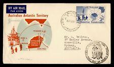 1958 AUSTRALIAN ANTARCTIC TERRITORY FDC CACHET MAWSON