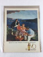 Seagram's Canadian Whisky Vintage Print Collectible Advertisement 10.25 x 13.25