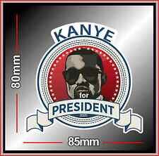 KANYE FOR PRESIDENT 2020 STICKER VOTE KANYE WEST USA ELECTION BUMPER DECAL