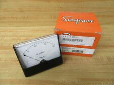 Simpson 1X057 AC Current Meter