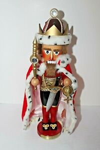 "Vtg 1990's Steinbach Nutcracker ""Good King Wenceslause"" Club Member Exclusive"