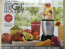 The Original Magic Bullet 17 Piece Hi-Speed Blender Mixer System Kitchen Cooking