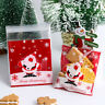 Christmas Self Adhesive Food Cookies Biscuit Candy Gift Festival Packaging Bags