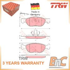 FRONT DISC BRAKE PAD SET ALFA ROMEO 146 930 145 930 TRW OEM 71753043 GDB1486 HD