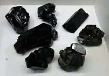 7 Piece Lot of BLACK TOURMALINE from Namibia