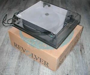 british Revolver  Belt Drive 2 Speed Vintage Record Vinyl Deck Player Turntable