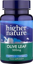 Higher Nature Olive Leaf Extract<br>90 veg caps