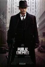 Public Enemies Double Sided Original Movie Poster 27x40 inches