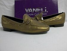 Vaneli Van Eli Purple Collection Sze 7 M Rodina Leather Bronze New Womens Shoes