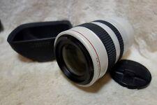 Canon XL Fluorite 20x Zoom Lens 5.4 - 108mm L IS 1:1.6 - 3.5 working fine + Hood