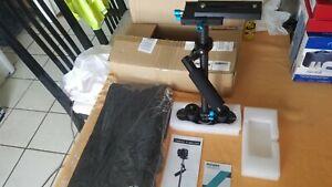 Neewer Carbon Fiber 24 inch Handheld Camera Stabilizer w Quick Shoe Plate Black