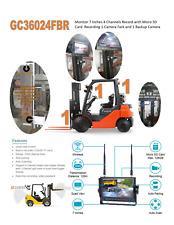 Forklift Wireless Camera System 360 Deg View With Camera Holder By Gocamera360