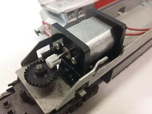 Motorisation Jouef HO : Kit moteur locomotives chassis métallique